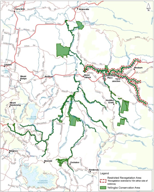 Map of new Conservation Area